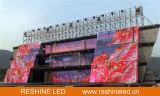 Tela do painel do diodo emissor de luz do evento do fundo de estágio/o video indicador Rental ao ar livre/sinal/parede/quadro de avisos internos