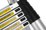セリウムCertificate Aluminum Telescopic Ladder 3.8m Size