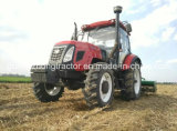 90-120HP、4WD Farm Tractor Agricutural Wheeled Tractor