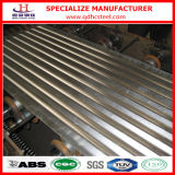 Corrugated Metal Galvalume Steel Sheet для Roof