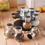 De Kruik van het kruid/de Specerij van het Olie-en azijnstelletje/Zoute Houder/de Houder van de Peper/het Olie-en azijnstelletje van het Glas