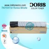Toner negro de la copiadora del color Tn319 para Konica Minolta Bizhub C360
