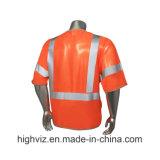 Veste elevada da segurança da visibilidade com ANSI07 (C3001)