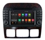 Android 5.1/1.6 gigahertz da navegação do carro DVD GPS para o reprodutor de DVD do Benz S/SL com conexão de WiFi