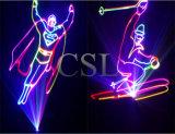 RGB 풀 컬러 1W-20W 애니메니션 레이저 광 (CSL-802)