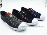 Zapatos superiores inferiores verdes fluorescentes del ocio de los hombres y de las mujeres (ET-LH160316M)