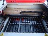 CO2 Minilaser-Gravierfräsmaschine für Ziegelstein-keramische Feder