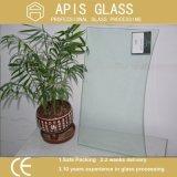 CNCによって粉砕を処理する特別な形の緩和されたガラス
