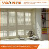 Manuelles Basswood-Innenfenster-hölzerne Blendenverschlüsse für Haus-Dekoration
