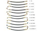 Шланг стального провода En857 2sc Braided гидровлический резиновый