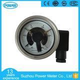 2.5 '' 63mm tout l'indicateur de pression électrique de contact de Wika d'acier inoxydable