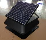14inchファン・ブレード(SN2014008)が付いている屋根のための調節可能なPVの太陽30W太陽エネルギーの排気の出口