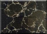 Laje de mármore artificial da pedra de quartzo da cor da alta qualidade para bancadas da cozinha