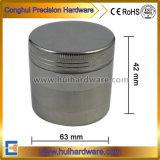 4 do CNC Weed porções do alumínio do moedor 2.2 2.5 polegadas de moedor da erva