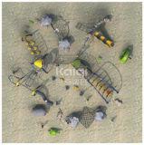 Speelplaats van het Klimrek van Kaiqi de Openlucht met de MultiSpelen van het Spel (KQ60131A)