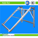 Jogo da montagem do picovolt do painel solar de telhado de telha, suporte solares de alumínio da telhadura, sistema solar da montagem