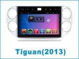 Androïde GPS van de Auto DVD van het Systeem voor Volkswagen Tiguan met de Navigatie van de Auto/Auto Bluetooth