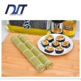 Esteira branca de bambu do rolamento do sushi da esteira de bambu natural pura do sushi