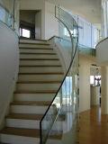 Frameless 유리제 난간/장식적인 층계 방책
