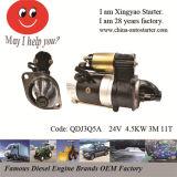 24V 4.5 Kw 11t Diesel Generator Engine Eletric Starter Motor