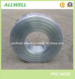Шланг трубы водопровода шланга PVC пластмассы гибкий ясный прозрачный ровный