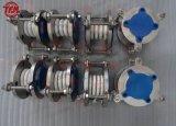 Compensateur de beuglement du joint de dilatation en métal PTFE