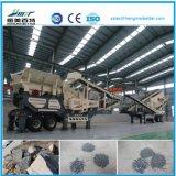 La estación de trituradora móvil de Residuos de Construcción