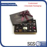 La fábrica modifica el rectángulo de empaquetado del chocolate para requisitos particulares plástico