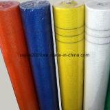 Matériau de construction enduit de maille de fibre de verre d'intérieur ou de résine extérieure d'utilisation