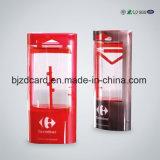 Напечатанная OEM коробка коробки пластичный упаковывать PVC портативная складывая