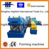 Rambarde de presse hydraulique formant la machine pour la route