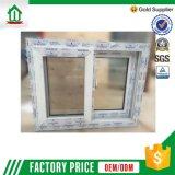 Finestra di vetro professionale del rifornimento UPVC della fabbrica (WJ-W01)
