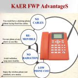 Teléfono de la línea horizonte con la tarjeta de SIM (KT1000-130C)