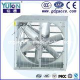 Ventilateur axial d'échappement de serre chaude galvanisé par LF