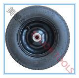 HANDlaufkatze-Rad der gute Qualitäts3.00-6 pneumatisches Gummi