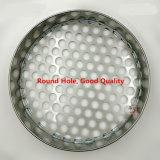 Tamiz estándar perforado para tamizar el germen de la harina/del bróculi/la haba de Mung/el germen de trébol/el germen del rábano