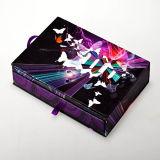 Recyclables amicaux en gros d'Eco embellissent l'empaquetage de papier de boîte-cadeau