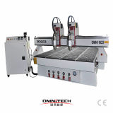 1825 CNC Router met Atc en Roterende As