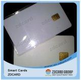Cartão de microplaqueta esperto em branco sem contato do contato com listra magnética