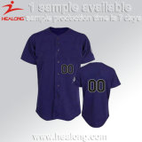 Base-ball 100% fait sur commande d'Unifrom de vêtements de sport de Mens de polyester Jersey