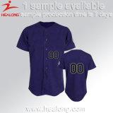 Basebol 100% feito sob encomenda de Unifrom do Sportswear do Mens do poliéster Jersey