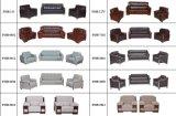 Il sofà di cuoio italiano della sala riunioni dell'ufficio del sofà ha impostato (FOH-8083)