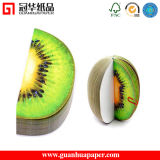 Fruit 귀여운 Shaped 각자 Adhesive Sticky Notes, Customized 3D Shaped Memo Pad