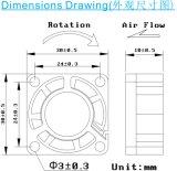 Df3010 DC 팬 30*30*10mm Ventiladores 냉각팬