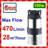 Flow axial Submersible Water Pump para Farming