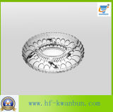 Kitchenware de vidro Kb-Hn0385 da placa de sobremesa do prato de vidro