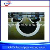 5つの軸線の大きい円形の管CNC血しょう切断斜角が付く機械価格