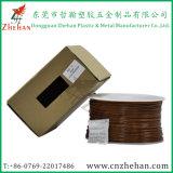 Witte Staaf 1.75mm van het Lassen van de Spoel Plastic 3.0mm ABS PLA de Plastic 3D Gloeidraden van de Druk