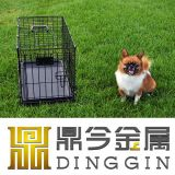 Metallhaustier-Hundezellen für Pekingese