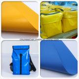 Tissu de sac de PVC de qualité/sachet en plastique enduit/sac imperméable à l'eau